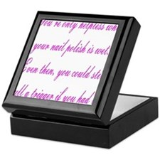 Helpless Keepsake Box