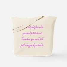 Helpless Tote Bag