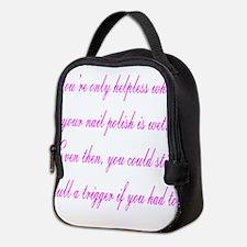 Helpless Neoprene Lunch Bag
