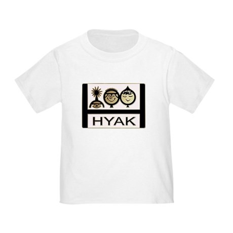 Toddler T-Shirt Logo front and back