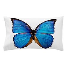 Animals Blue Butterfly Pillow Case