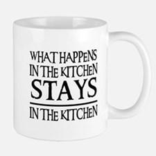 STAYS IN THE KITCHEN Small Mugs