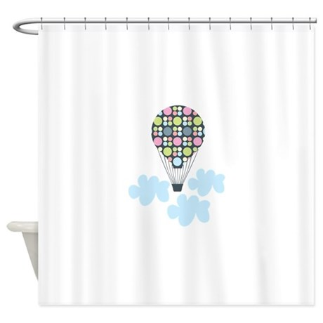Tan And Grey Curtains Family Shower Curtain
