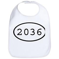 2036 Oval Bib