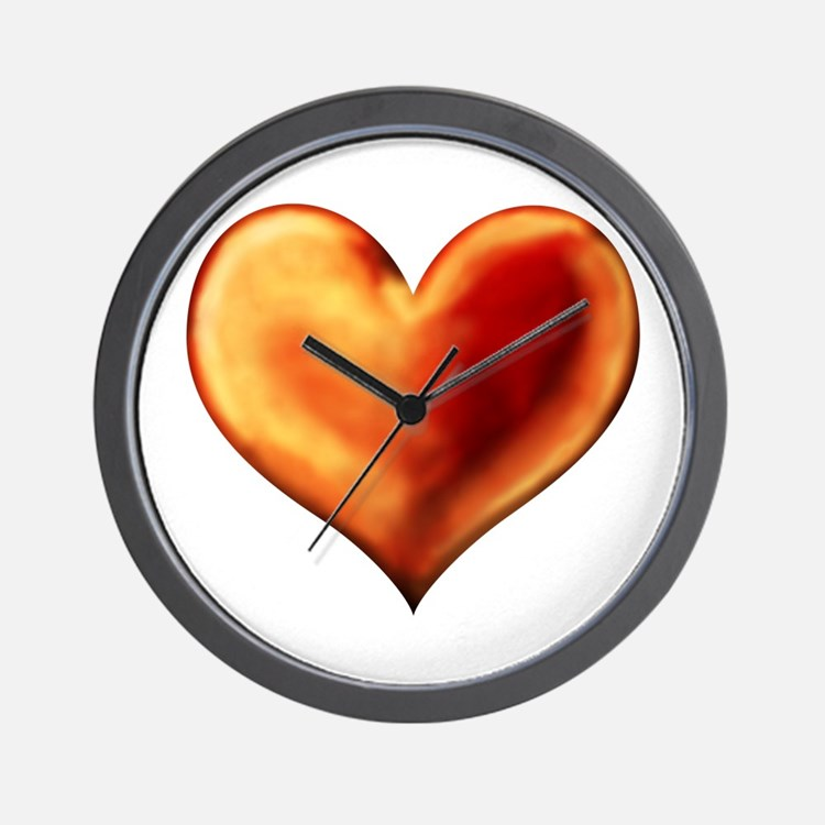 Heart of Love Wall Clock