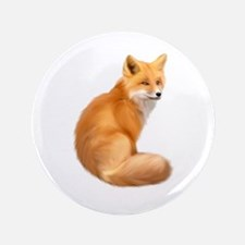 "animals fox 3.5"" Button"