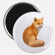 animals fox Magnets