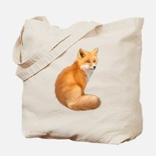 animals fox Tote Bag