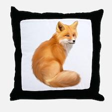 animals fox Throw Pillow