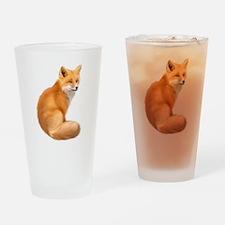 animals fox Drinking Glass