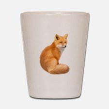 animals fox Shot Glass