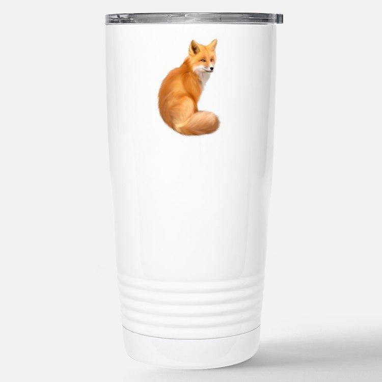 animals fox Travel Mug