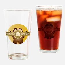 Corpus Meum Drinking Glass