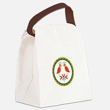 Double Distlefink Canvas Lunch Bag