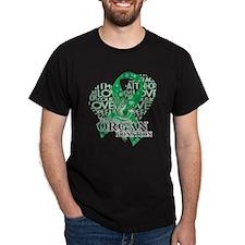 Organ Donor Love Hope Bird T-Shirt