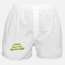 Numbers, Not Miracles Boxer Shorts