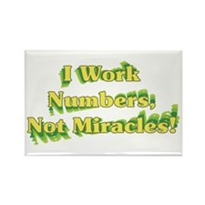 Numbers, Not Miracles Rectangle Magnet (10 pack)