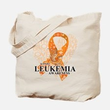 Leukemia Love Hope Bird Tote Bag