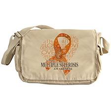 MS Love Hope Bird Messenger Bag