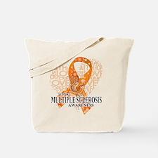 MS Love Hope Bird Tote Bag
