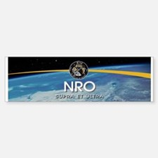NROL-9 Misty Logo Bumper Bumper Sticker