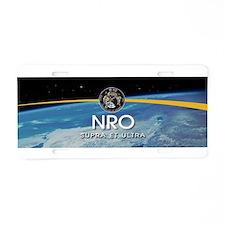 NROL-9 Misty Logo Aluminum License Plate