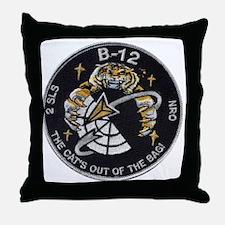 NROL-9 Misty Throw Pillow