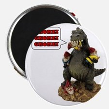 Godzilla Eating RA Magnet