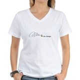Bee Womens V-Neck T-shirts