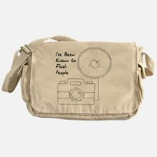 I've Been Known To Flash People Messenger Bag