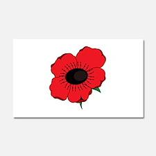 Poppy Flower Car Magnet 20 x 12