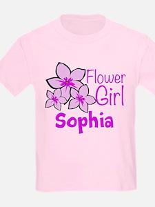 Customized Flower Girl T-Shirt