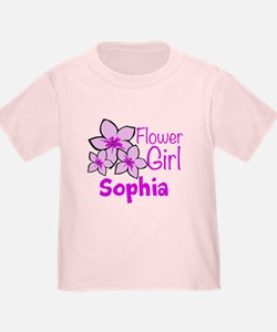 Customized Flower Girl T