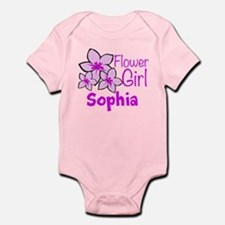 Customized Flower Girl Infant Bodysuit