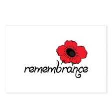 Remembrance Postcards (Package of 8)