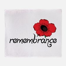 Remembrance Throw Blanket