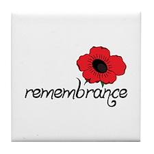 Remembrance Tile Coaster