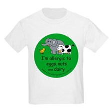 allergy_nuts_eggs_dairy T-Shirt