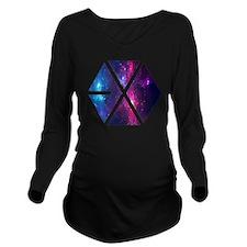 Cute Kpop Long Sleeve Maternity T-Shirt