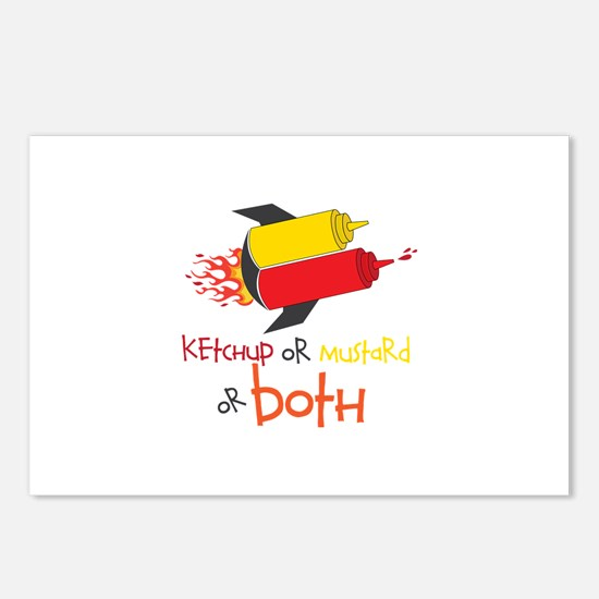 Ketchup Or Mustard or both Postcards (Package of 8