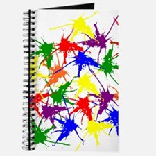 Colorful splatters Journal