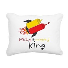 King Rectangular Canvas Pillow