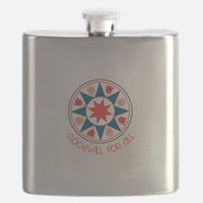 Goodwill For All Flask