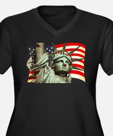 Liberty U.S.A. Plus Size T-Shirt