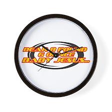 Funny Funny racing Wall Clock