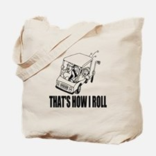 Funny Golf Quote Tote Bag