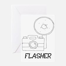 Flasher Greeting Card