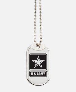 US ARMY White Star Dog Tags
