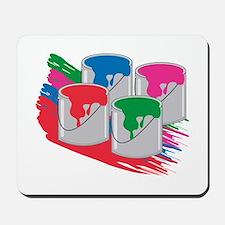 PaintCans Mousepad