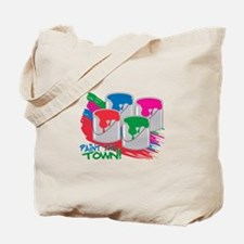 Paint The Town! Tote Bag